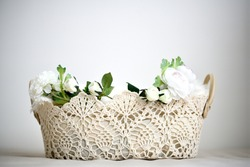Flower pot for Baby Photoshoot background image, can used for baby photoshoot