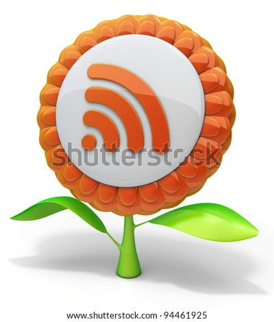 Flower RSS icon