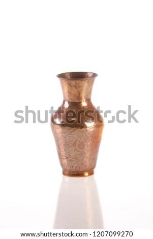 flower vase copper #1207099270
