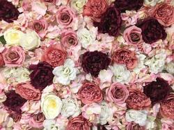 flower wall texture