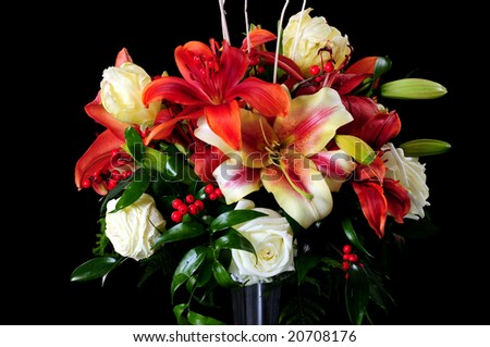 Flowers arrangement