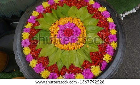 Flowers bloom in its own time but how to put many of them together it is about the florist senses. Spices and herb not only about flavor, it is about the attitudes of the one who boil it and serve it. #1367792528