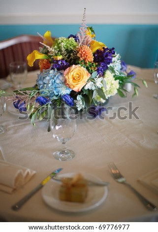 stock flowers wedding centerpieces