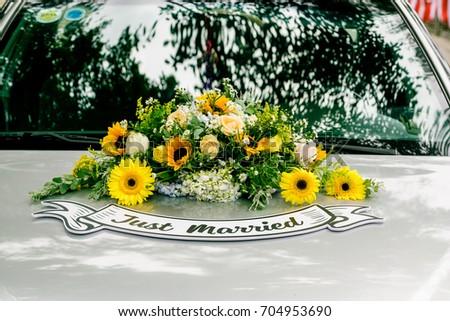 flowers, decoration, decor  #704953690