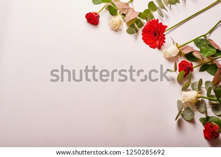 flowers for valentines day  #1250285692
