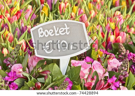 Flowers from Holland for sale