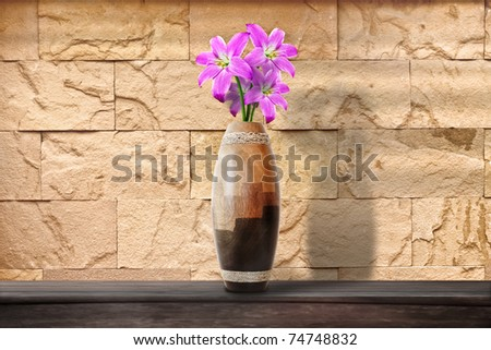 Flowers in a Vase / Middle composition