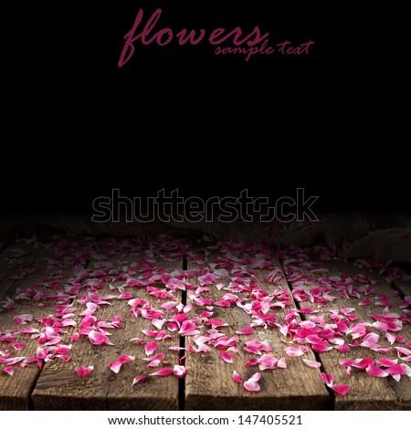 flowers on desk