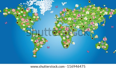 flowers world
