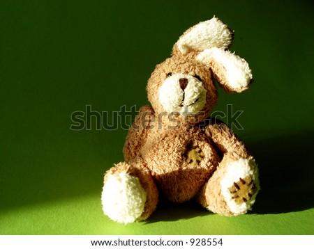 fluffy toy bunny