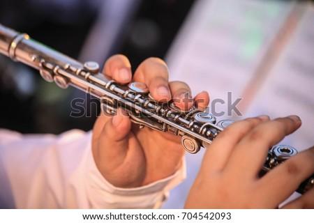 Flute Musicians #704542093