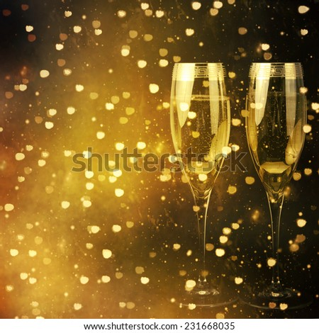 Flutes of champagne #231668035