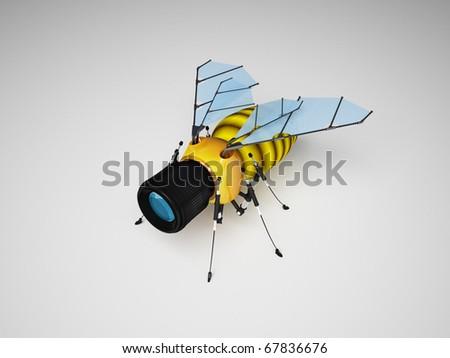 Шпионский пчелалёт