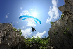 Flying Above The Rocks, Parang Endog, Yogyakarta
