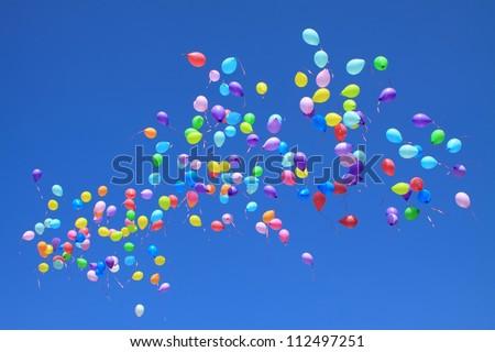 Flying Balloons