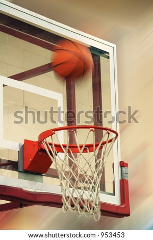 Flying Basketball