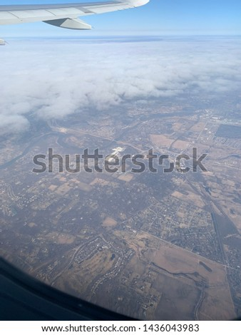 Flying over fly over states