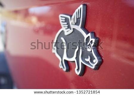 Flying Pig Logo #1352721854