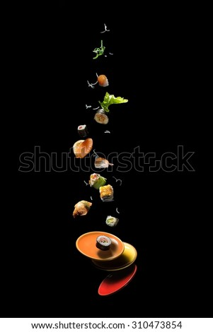 flying sushi