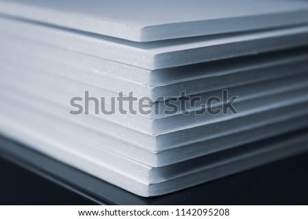 Foam Board Stack #1142095208