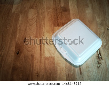 Foam  Box for container food