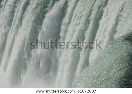 Foam of Niagara Falls