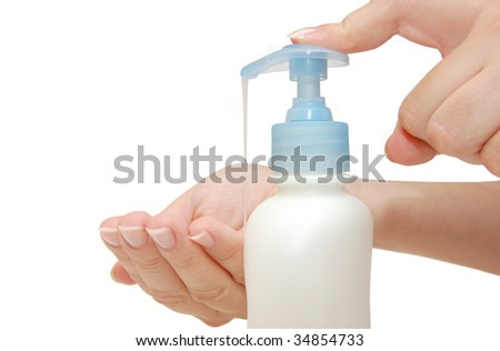 Foaming hand soap for washing