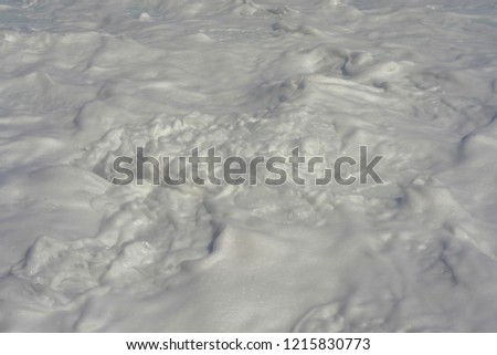 Foaming sea water #1215830773
