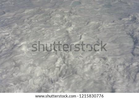 Foaming sea water #1215830776