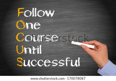 FOCUS - Business Success Concept #170078087