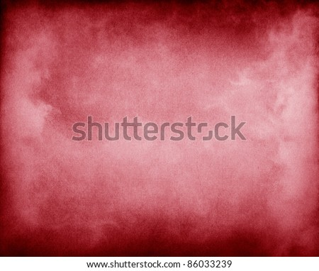Fog and clouds on a red paper background.  Image displays a pleasing paper grain and texture at 100%.