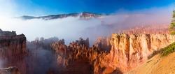 Fog in Bryce Canyon National Park, Utah, Usa, America