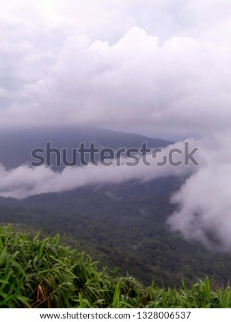 Fog Mountain Sun #1328006537