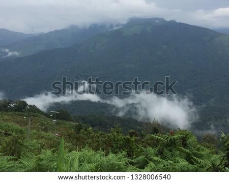 Fog Mountain Sun #1328006540