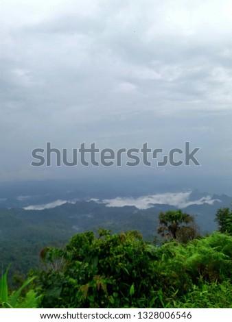 Fog Mountain Sun #1328006546