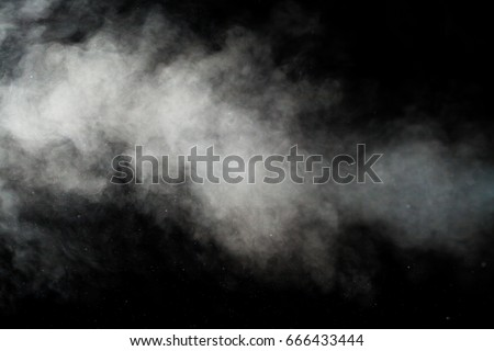 Fog or smoke isolated transparent special effect.