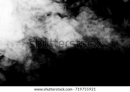 Fog or smoke isolated transparent special effect.   #719755921