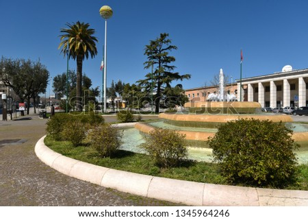 Foggia city by morning #1345964246