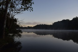 Foggy Lake at Sunrise Tennessee