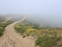Foggy Pleinmont, Motocross Track, Torteval, Guernsey Channel Islands