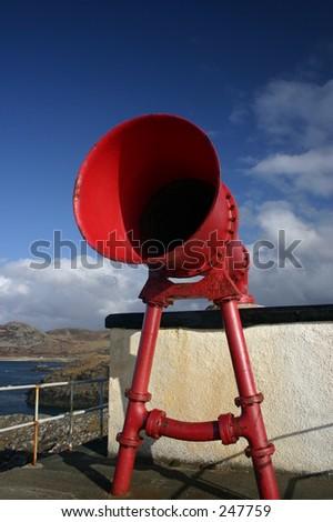Foghorn, Ardnamurchan Lightouse, Scotland