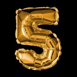 Foil Balloon - 3D Number