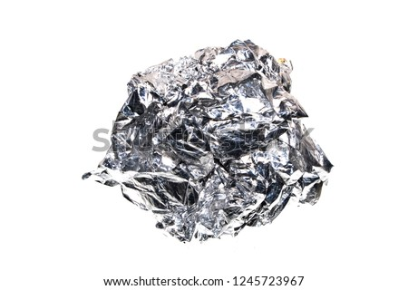 foil isolated on white background #1245723967