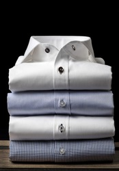 Folded Men's Shirts