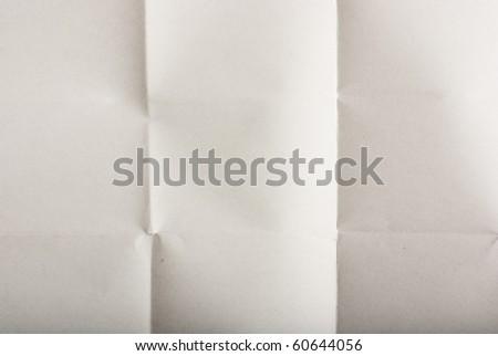 folded paper - stock photo