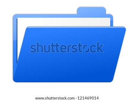 Folder - blue