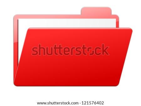 Folder - red
