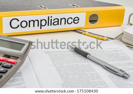 Folder with the label Compliance