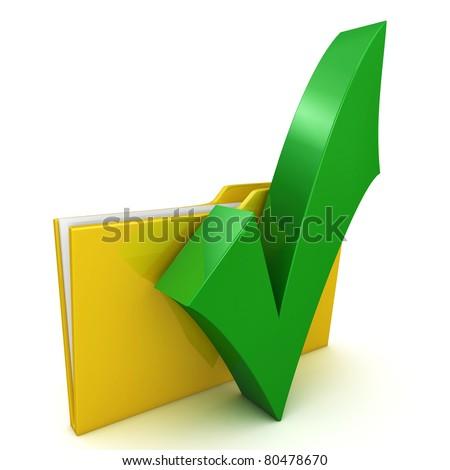 folder with tilde - stock photo