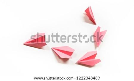Folding-paper Folding-art Squadron-shape